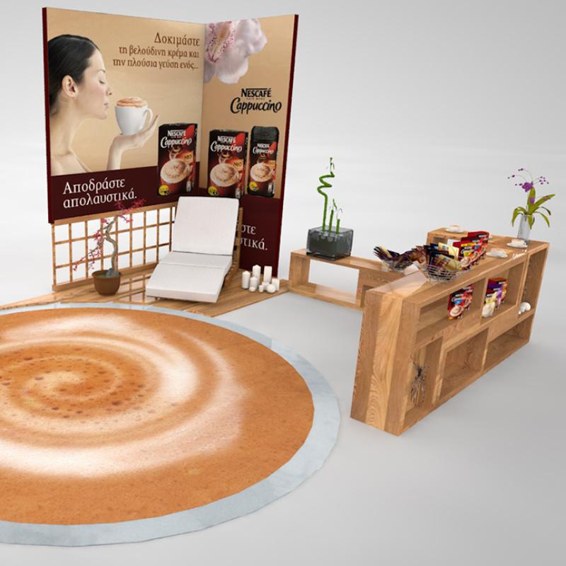 Multipurpose promotion area